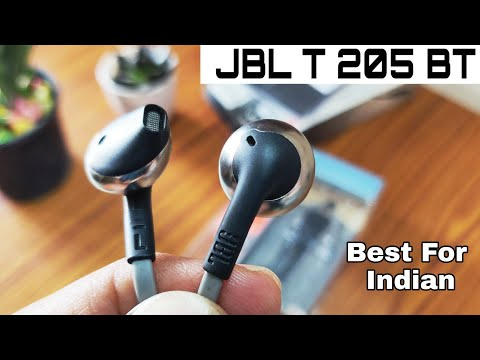 JBL T 205BT Wireless Bluetooth headphones | Best headphones for Indian| Review after 3 months
