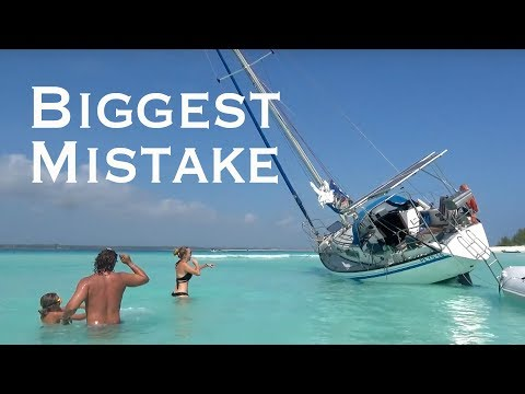EPIC SAILING FAIL - Grounded