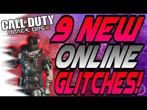 (1/27/16) 9 NEW BO3 Multiplayer Glitches! - Wallbreaches, Trickshot Glitches (BO3 Online Glitch)