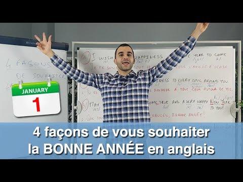 4 Facons De Vous Souhaiter La Bonne Annee En Anglais Youtube