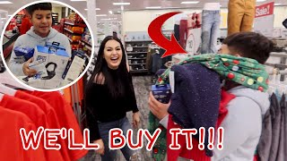 Anything Ethan Can Carry WE'LL BUY IT!!! Vlogmas Day 11
