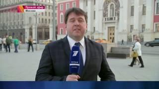 Технический ляп во время новостей (Первый канал, 02.05.2017)