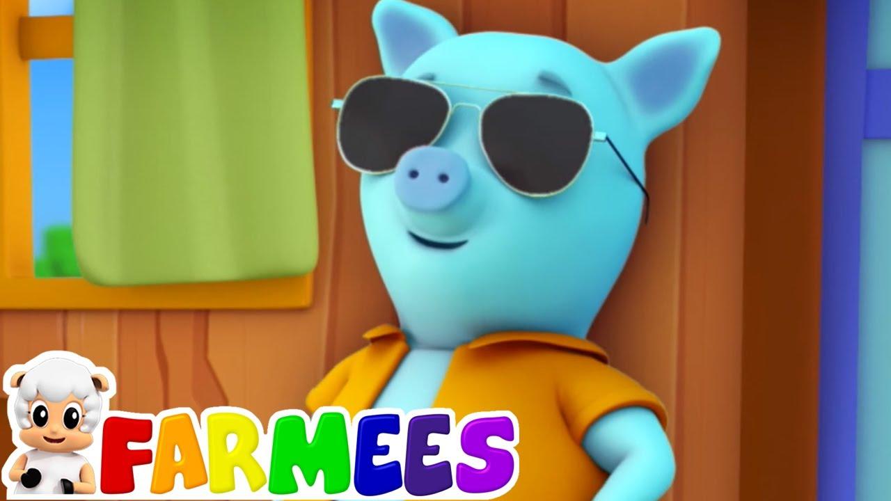 Este pequeño chanchito   Videos para bebes   Educación   Farmees Español   Canciones Infantiles