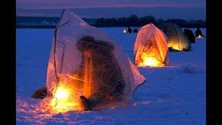 Есть Поклёвка! Зимняя Рыбалка с Комфортом. Ловля Плотвы Зимой