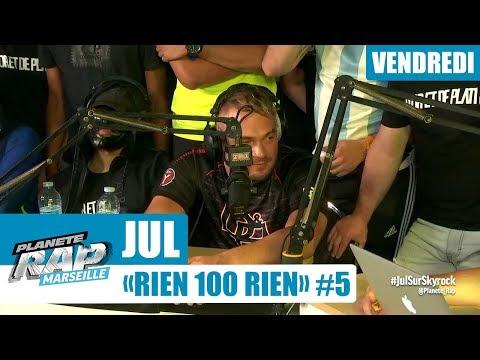 Youtube: Planète Rap – Jul«RIEN100RIEN» #Vendredi