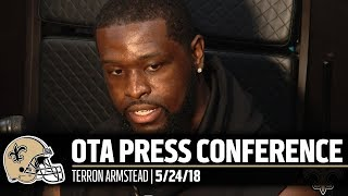Terron Armstead, Anything possible I can do to stay healthier, Im going to do it | 2018 OTAs