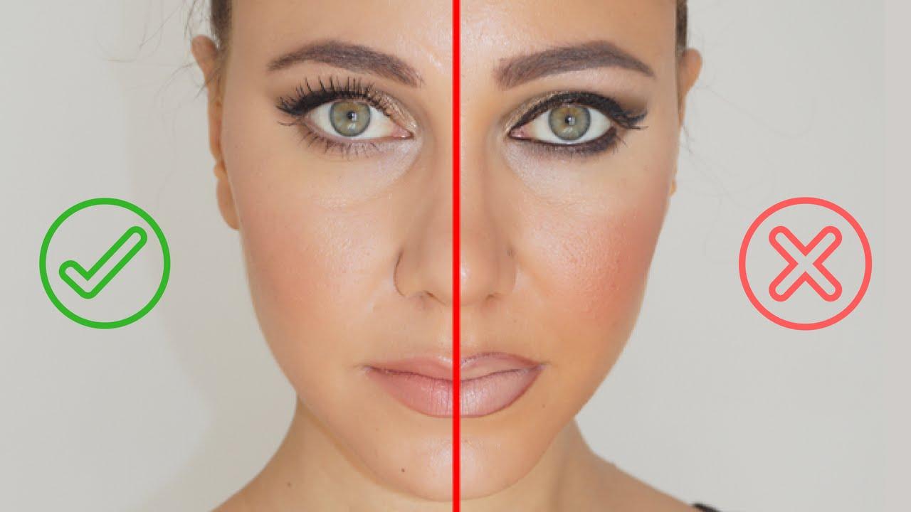 Souvent Les erreurs maquillage à éviterColashood2 - YouTube RM29