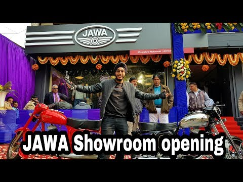 Jawa showroom opening in New Delhi, India
