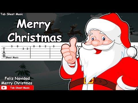 We Wish You A Merry Christmas Guitar Tutorial