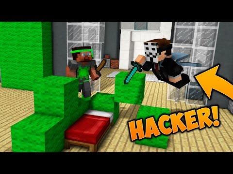 """Dansk Minecraft - Bed Wars - """"BESEJRER EN HACKER!!!"""""""