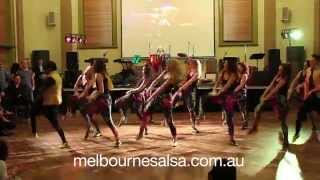 Melbourne Salsa LATIN HIP HOP TEAM June 2014 performance