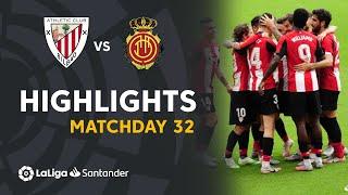 Highlights Athletic Club vs RCD Mallorca (3-1)