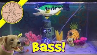 Bass Fishing Game, Fishing With Spongebob!
