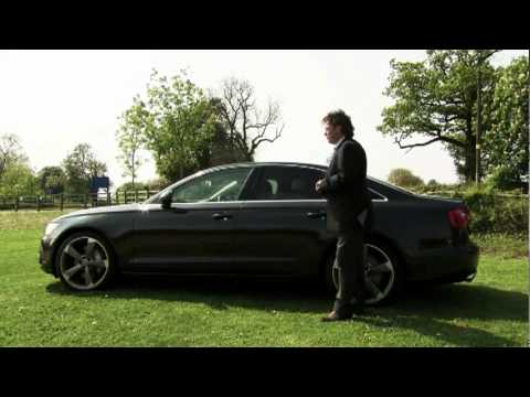 new audi a6 2011 driven road test in detail tv ad car. Black Bedroom Furniture Sets. Home Design Ideas