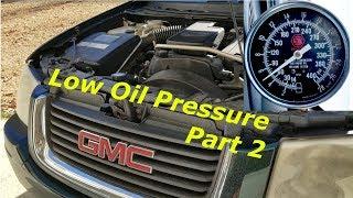 Diagnosing Envoy Low Oil Pressure - Part 2