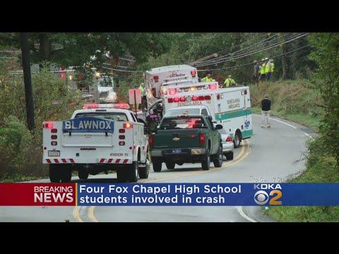 Fox Chapel HS Golf Team Members Injured In Crash