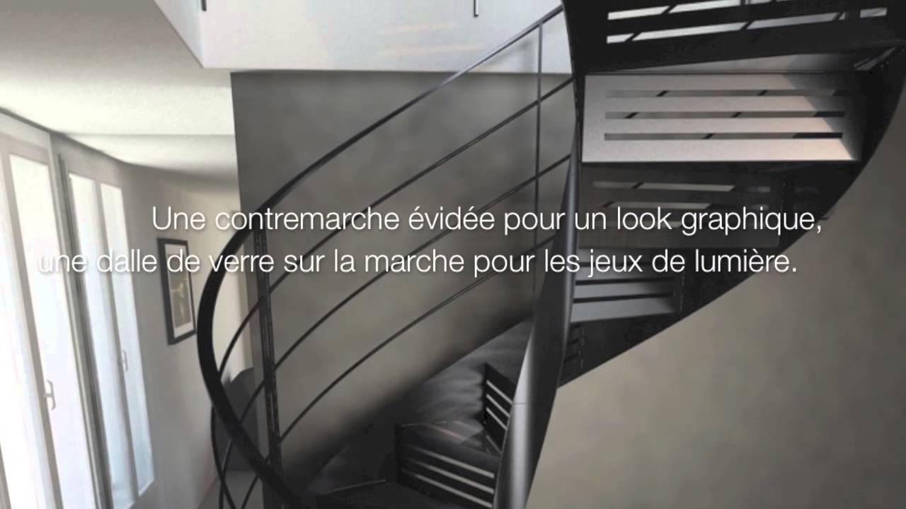 Escaliers Decors Escalier Metal Verre Passerelle Acier Verre