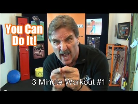 Golf Fitness – Got 3 Minutes? GolfGym 3 Minute PowerSwing Trainer Workout #1