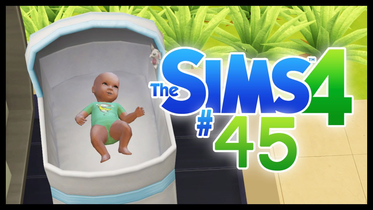 NEW BABY! - The Sims 4 - EP45 - YouTube