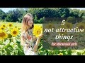 5 things that Make you NOT ATTRACTIVE for Ukrainian girls