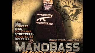 05.ManoBass - Gun in deine Fresse feat. PerVerZ - Manofaktur