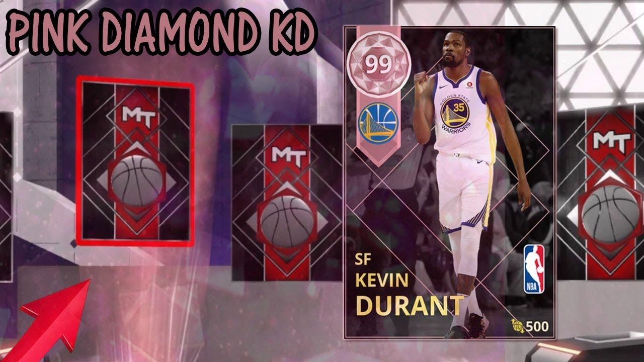eb24af15befb I PULLED PINK DIAMOND KEVIN DURANT ! NBA 2K18 MyTEAM - YouTube