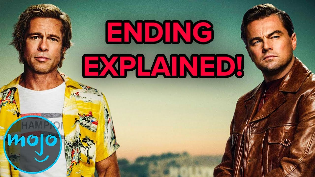 Once Upon a Time in Hollywood - Ending Explained - YouTube