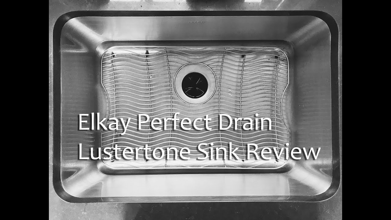 Elkay Ertone Perfect Drain Stainless Steel Sink Quick Review Eluh241610pd