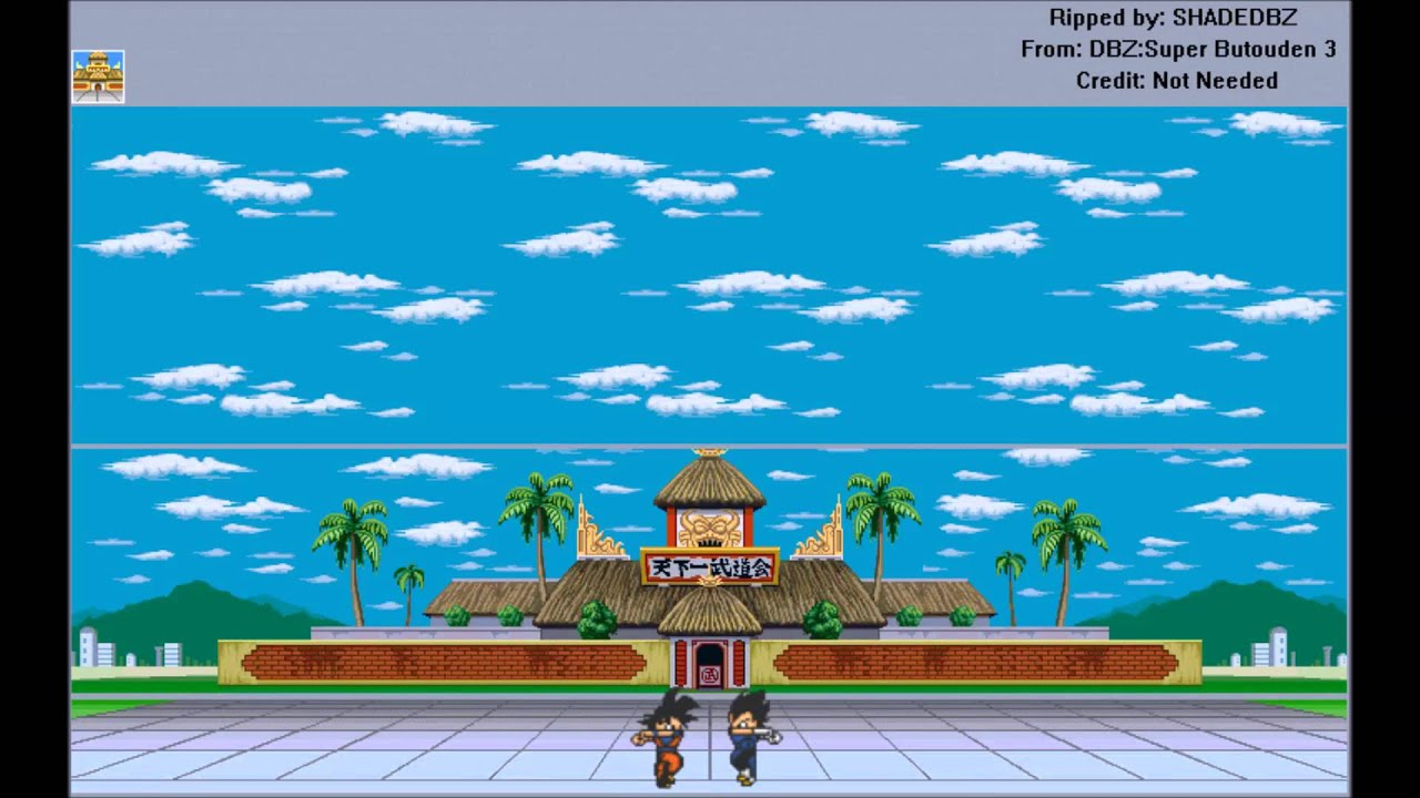 Dragon Ball Z Background Sprites 14232 Applestory