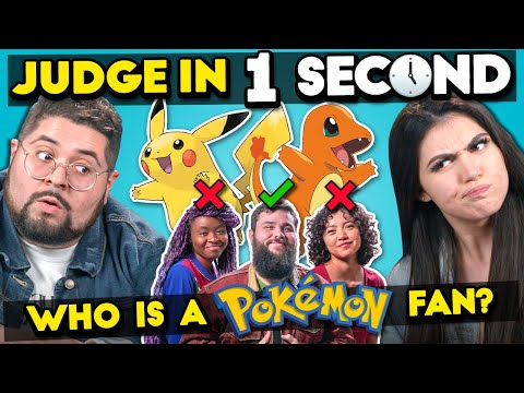 Can YOU Spot The Pokemon Fan?   Judge In One Second