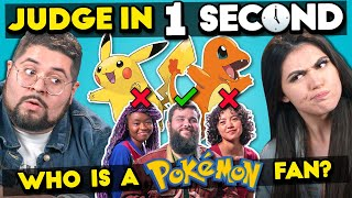 Can YOU Spot The Pokemon Fan? | Judge In One Second