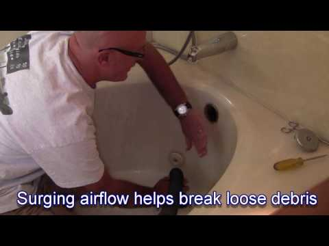How to Clear a Bathtub Drain with a Shop Vac