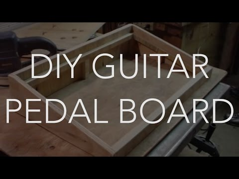 my new do it yourself home made guitar pedal board diy youtube. Black Bedroom Furniture Sets. Home Design Ideas