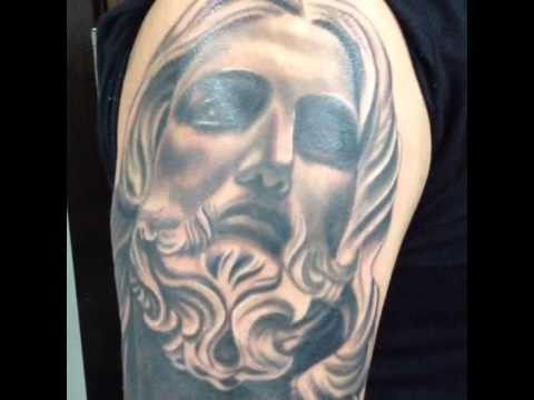 Salvadore Bernini Christ Jesus Tattoo Youtube