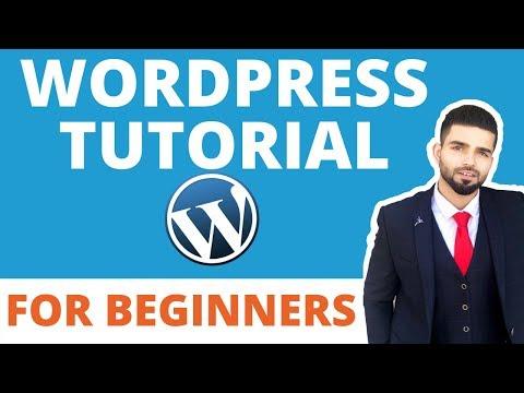 Wordpress for Beginners: Wordpress Tutorial Step by Step guide thumbnail