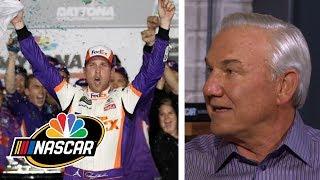 Denny Hamlin ties 'idol' Dale Jarrett on NASCAR wins list | Motorsports on NBC