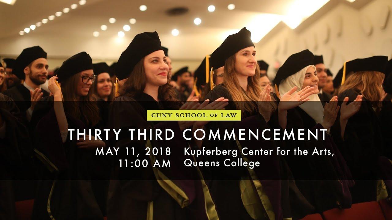 Cuny Law School >> Cuny School Of Law Commencement 2018 Youtube