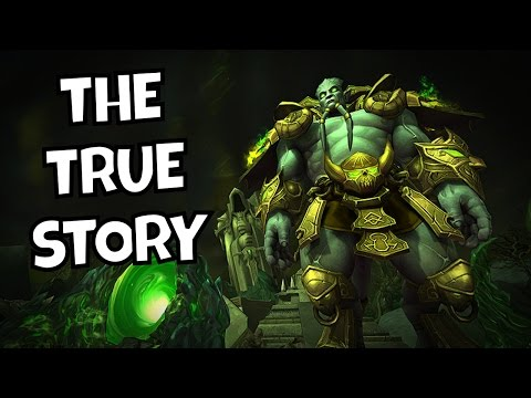 The True Story of Archimonde! - (Warcraft Lore)