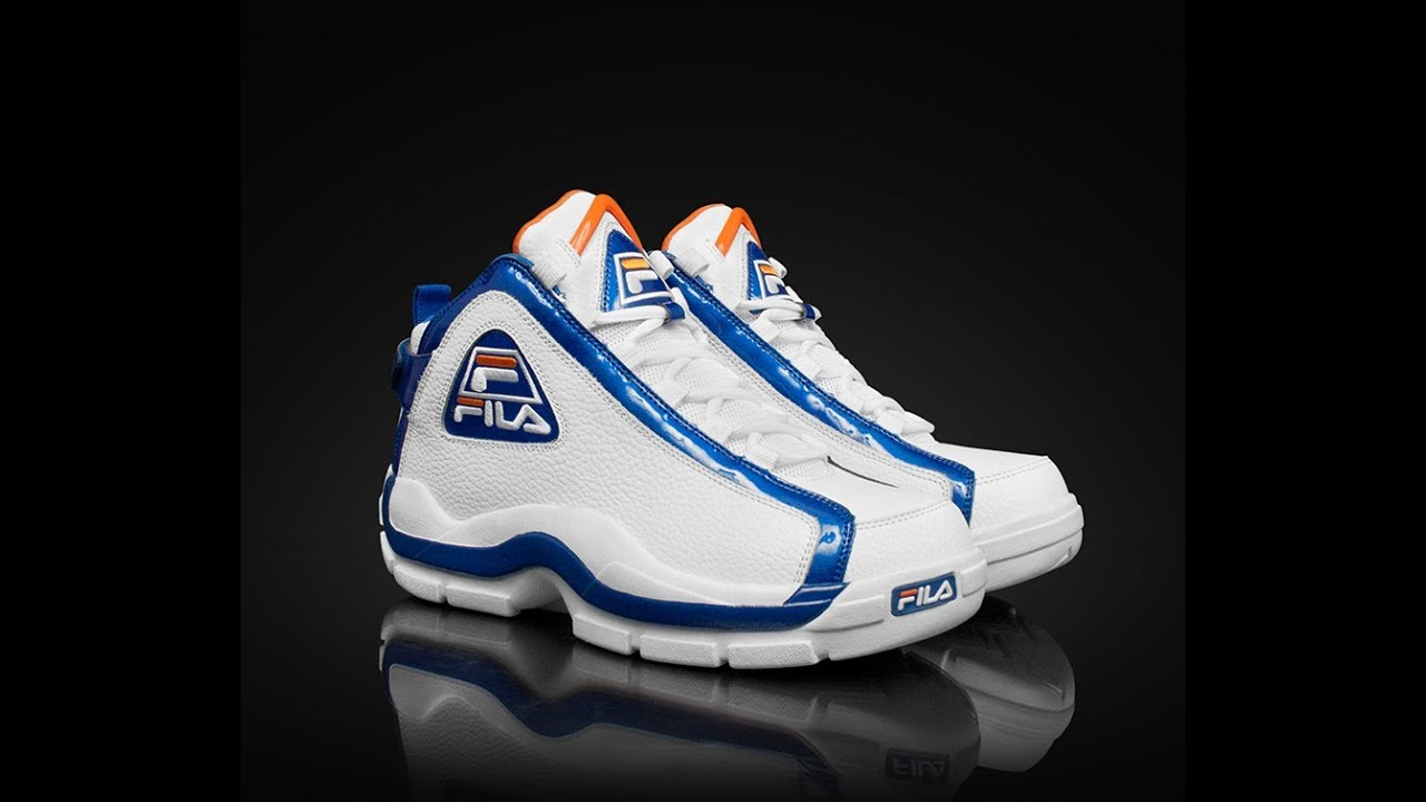 5c6c89ca2341 Fila 96 AKA Grant Hill 2 shoe review NYC pack Knicks colorway - YouTube