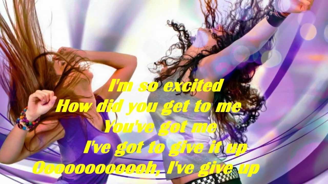 I'm So Excited [Lyrics] HD