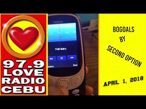 Bogoals  Second Option played at Love Radio 97 9 on April 1, 2018