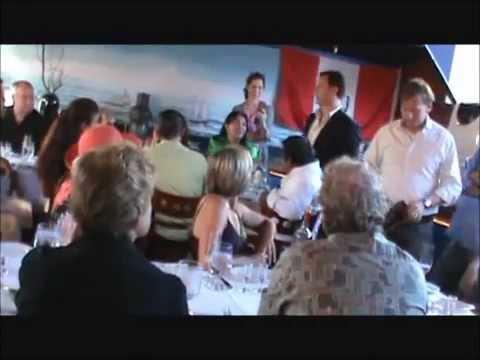 MARCA PERU EN  YATCH CLUB SEAFOOD RESTAURANT, WALNUT CREEK CALIFORNIA,