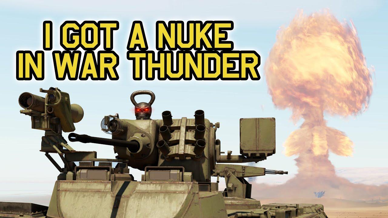 MARDER A1 NUKE - WAR THUNDER NUKE - Nuke in War Thunder - OddBawZ