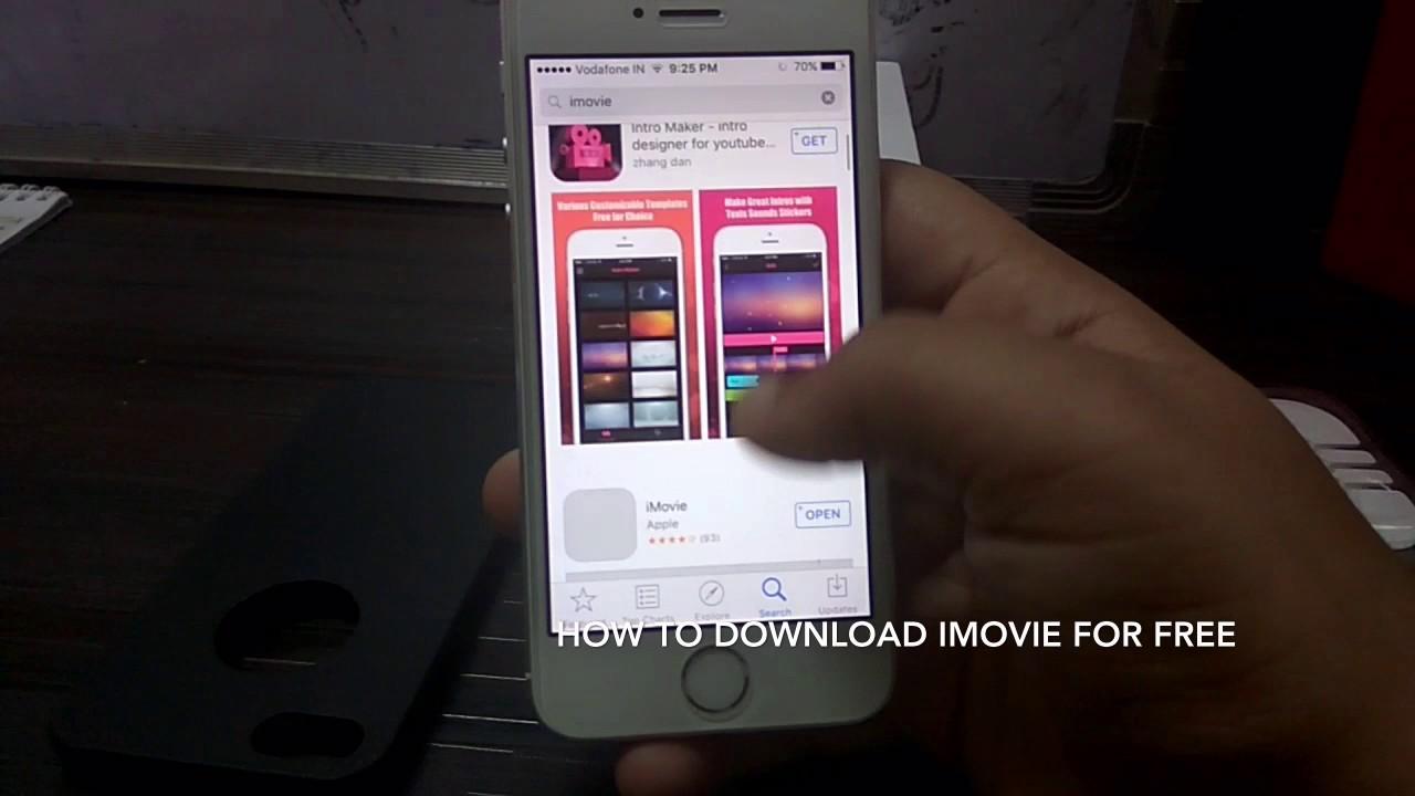 Download imovie free iphone