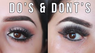 Easy Eyeshadow Tutorial | Eyeshadow Do's and Dont's