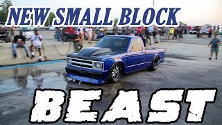 NEW SMALL BLOCK NITROUS S10 ON THE GRUDGE SCENE AND IT LOOKS TO BE A CONTENDER!