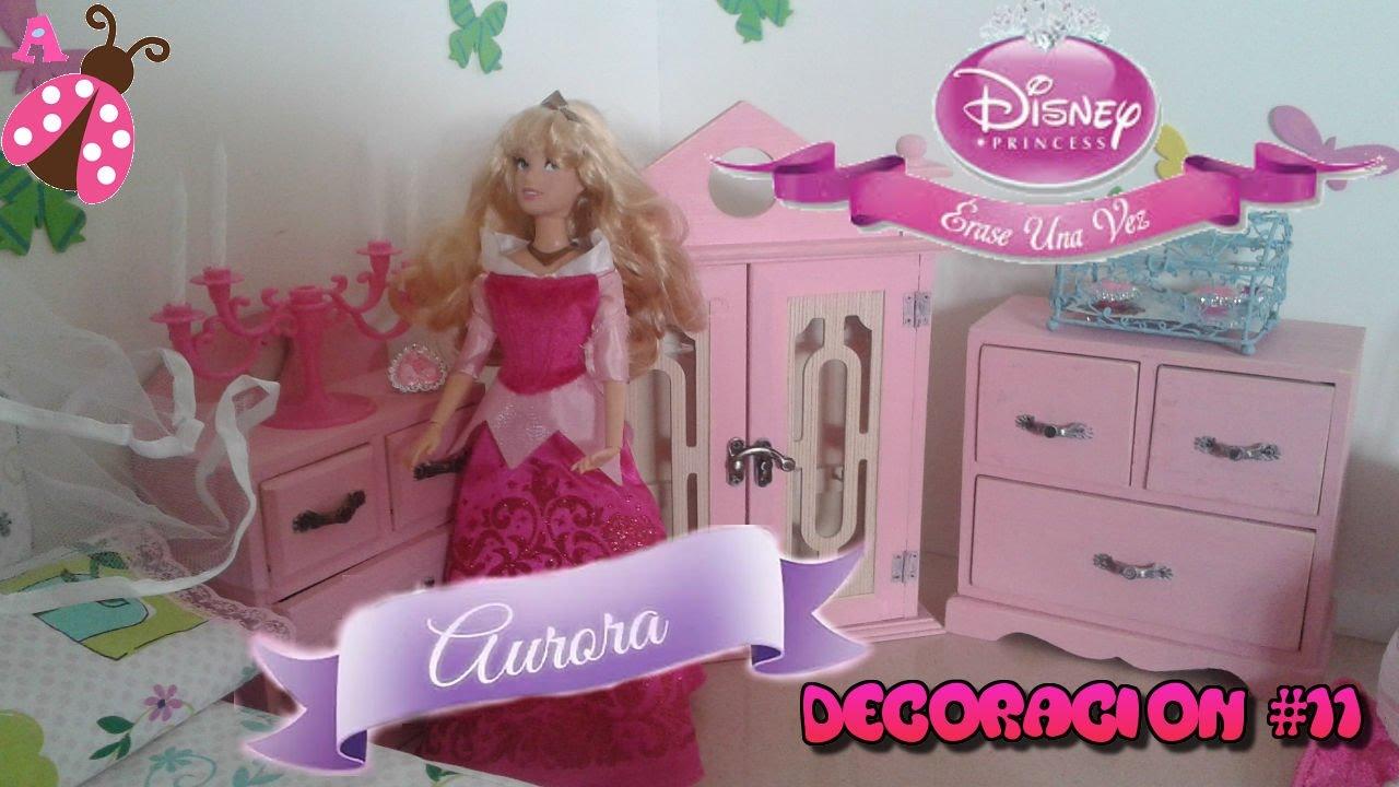 Deco habitacion princesa aurora decoraci n 10 casa de mu ecas room tour princess disney - Decoracion de casas de munecas ...