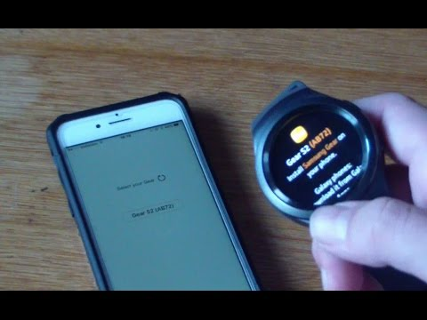 Gear S2 Iphone >> Gear S2 With Iphone How To Youtube