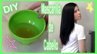 ♥ DIY ♥ Mascarilla Para Dar Brillo Al Cabello ♥ - Karla Marie