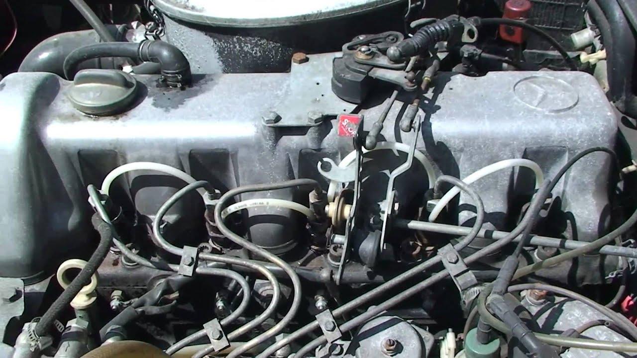 Mercedes Turbo Diesel Motor